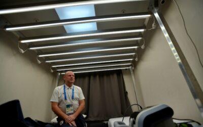 ČT: Jsou libo světelná sprcha anebo laser? O české olympioniky je v Koreji postaráno